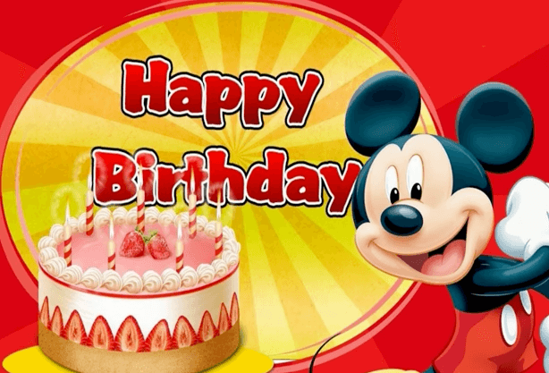 Cancion Cumpleanos Feliz Mickey Mouse Videos De Cumpleaños Feliz