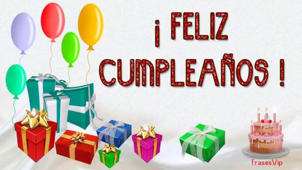 Feliz Cumpleaños Con Frases Y Imágenes Bonitas Happy